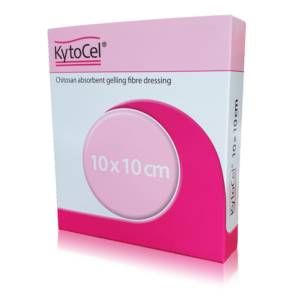 KytoCel gelling fibre dressing